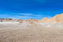 Atacama pustyni krajobraz fotografia stock
