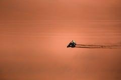 Atacama Quad. Quad Biking in the desert of Atacama Stock Photo