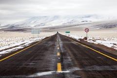 Atacama road Stock Images
