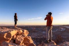 Atacama Wüste in Chile Stockbild