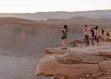 Atacama Wüste in Chile Lizenzfreie Stockfotografie