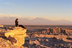 Atacama Wüste in Chile Stockfotografie