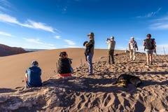 Atacama Wüste in Chile Stockbilder