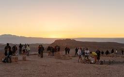 Atacama Wüste in Chile Stockfotos