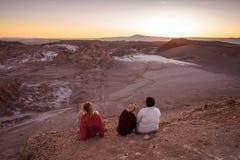 Atacama Wüste in Chile Lizenzfreies Stockbild