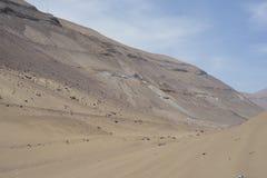 Atacamawoestijn, Iquique Chili Stock Foto