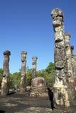 Atadage in Polonnaruwa Stock Photo