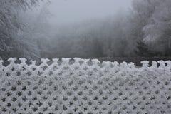 Atado con hielo Foto de archivo