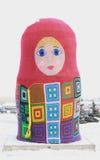 Atado con la muñeca en Krasnoyarsk Fotografía de archivo libre de regalías
