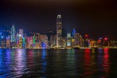 Atadura adesiva Vista de Kowloon Fotos de Stock Royalty Free
