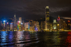 Atadura adesiva Vista de Kowloon Fotografia de Stock