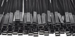 Ataduras de cables Imágenes de archivo libres de regalías
