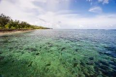 atafu海滩ha 库存照片