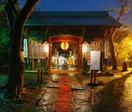 Atago Shrine. In Sendai, JP. The shrine was established in 1650 and is dedicated to the god of fire Stock Photos