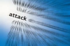 Atak Zdjęcia Stock