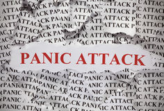 Atak Paniki Obraz Stock
