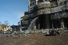 ataki deponować pieniądze bombowego hsbc fotografia royalty free