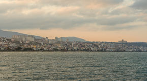 Atakum海滩萨姆松,土耳其 库存图片