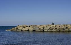 Atakum plaża Samsun, Turcja Zdjęcia Royalty Free
