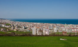 Atakum scena, Samsun miasto, Turcja Obrazy Royalty Free
