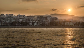 Atakum strand Samsun, Turkiet Royaltyfri Bild