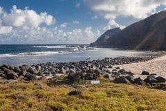 Atalaia strand Fernando de Noronha Island Royaltyfria Foton