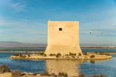Atalaya costera Imagenes de archivo