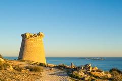 Atalaya costera Fotografía de archivo libre de regalías