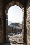 Atalaya de la Gran Muralla Foto de archivo libre de regalías