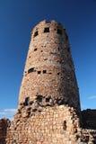 Atalaya de la opinión del desierto Imágenes de archivo libres de regalías