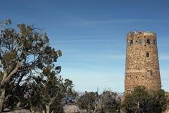 Atalaya de la opinión del desierto Fotos de archivo libres de regalías