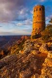 Atalaya de la opinión del desierto de Grand Canyon foto de archivo