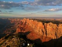 Atalaya de la opinión del desierto de la barranca magnífica Imagen de archivo libre de regalías