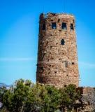 Atalaya de la opinión del desierto en la barranca magnífica Fotos de archivo libres de regalías