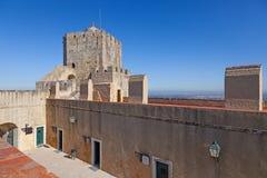 Atalaya del castillo de Palmela Foto de archivo libre de regalías