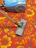 Atapete a limpeza Imagens de Stock