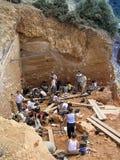 Atapuerca fossiele plaats royalty-vrije stock fotografie