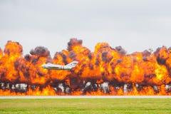 Ataque aéreo Foto de archivo
