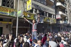 Ataque contra oficinas de partido de la libertad y de la justicia Fotografía de archivo