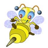 Ataque da abelha Fotos de Stock