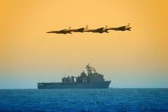 Ataque de la marina de los E.E.U.U. Imagen de archivo libre de regalías