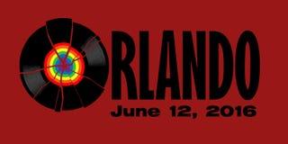 Ataque de Orlando Imagens de Stock Royalty Free
