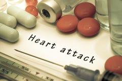Ataque del corazón fotografía de archivo