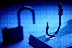 Ataque del phishing de la tarjeta de crédito foto de archivo libre de regalías