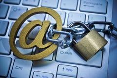 Ataque del phishing del correo electrónico Fotografía de archivo