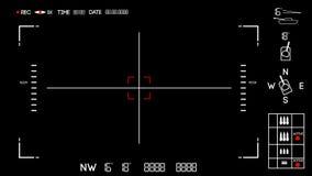 Ataque del tanque ilustración del vector