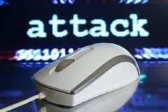 Ataque del Web fotos de archivo libres de regalías