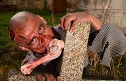 Ataque del zombi fotografía de archivo