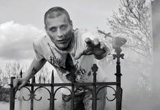 Ataque del zombi foto de archivo libre de regalías