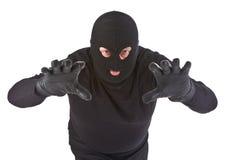 Ataque do assaltante Fotografia de Stock Royalty Free